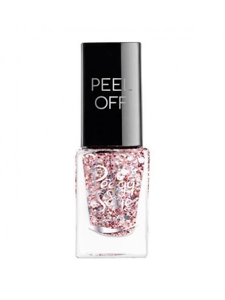 Esmalte mini Peel Off Rose glitter [0]