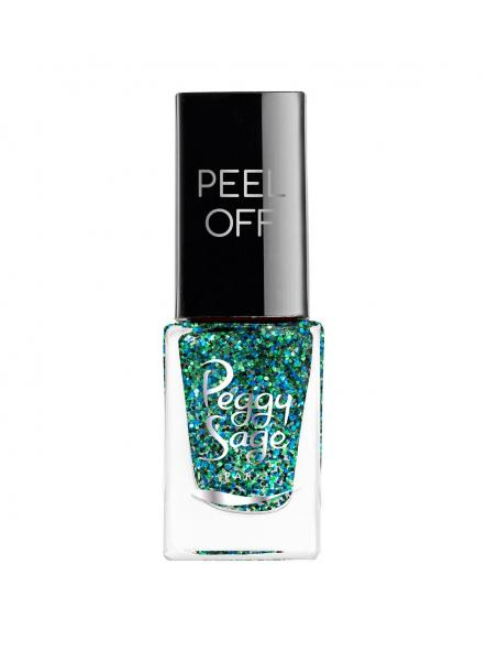 Esmalte mini Peel Off Green glitter [0]