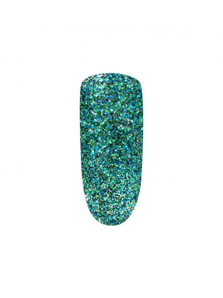 Esmalte mini Peel Off Green glitter [1]