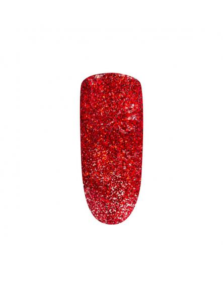 Esmalte mini Peel Off Red glitter [1]