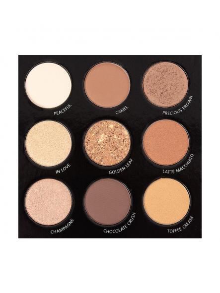 Paleta de sombras Coffe brown [1]