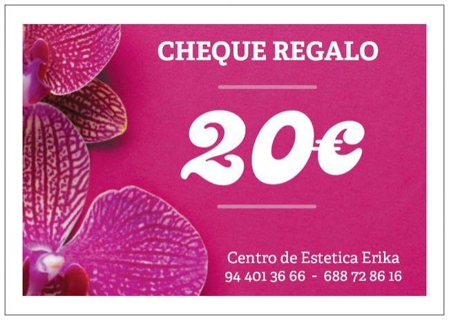 Cheque regalo 20€