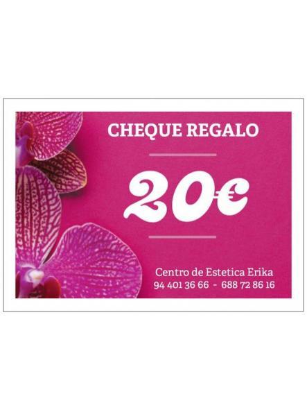 Cheque regalo 20€ [0]