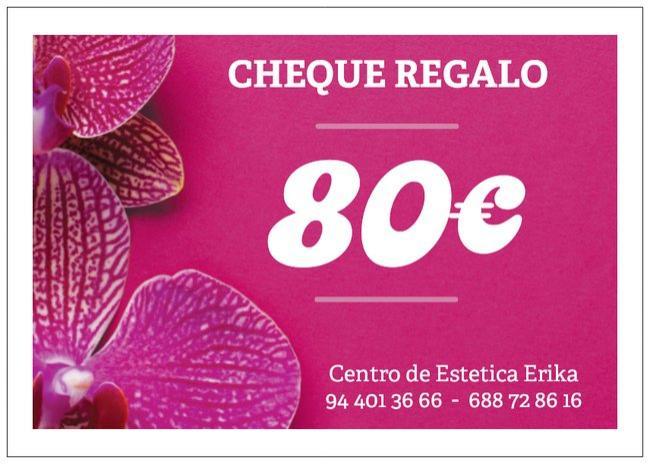 Cheque regalo 80€