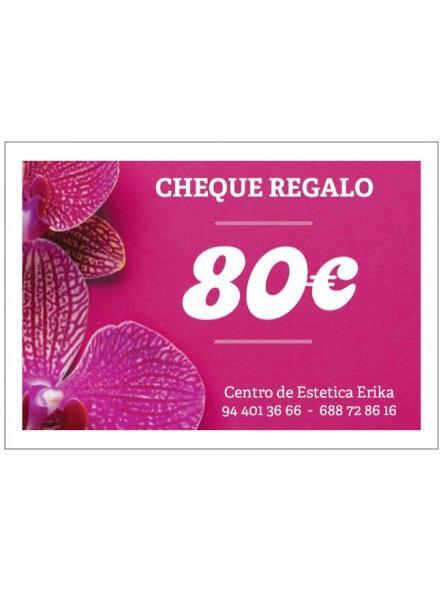Cheque regalo 80€ [0]