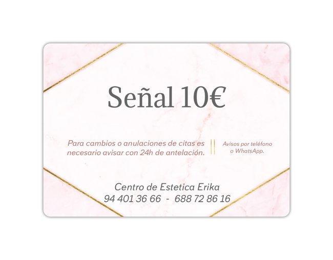 Señal 10€