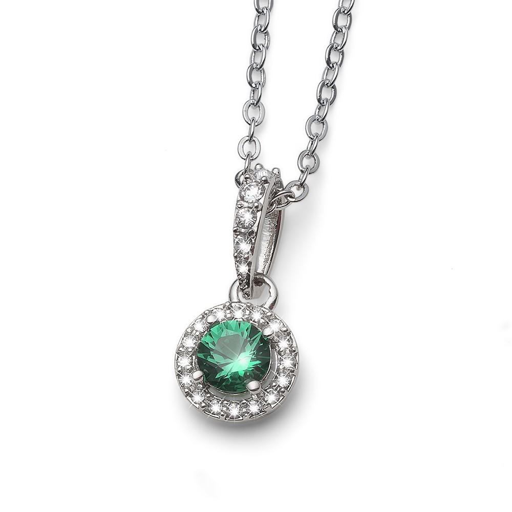 Colgante Swarovski Need RH CRY green
