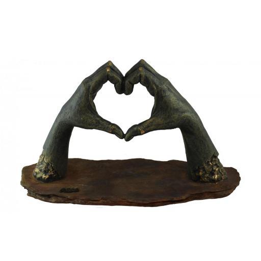 Escultura CULMINACIÓN ANGLADA