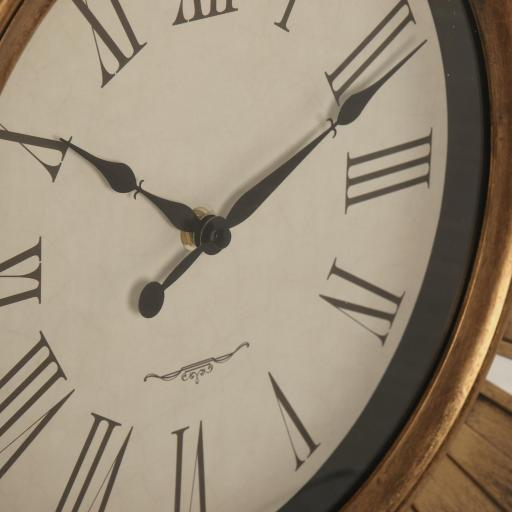 Reloj Pared Resina Dorado 57.5 cm [2]