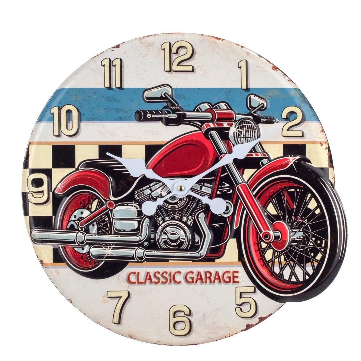 Reloj Moto Clásica