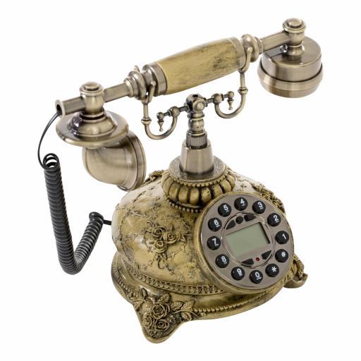 Teléfono Clásico Oro