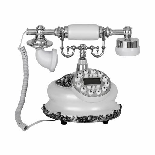 Teléfono Retro Blanco