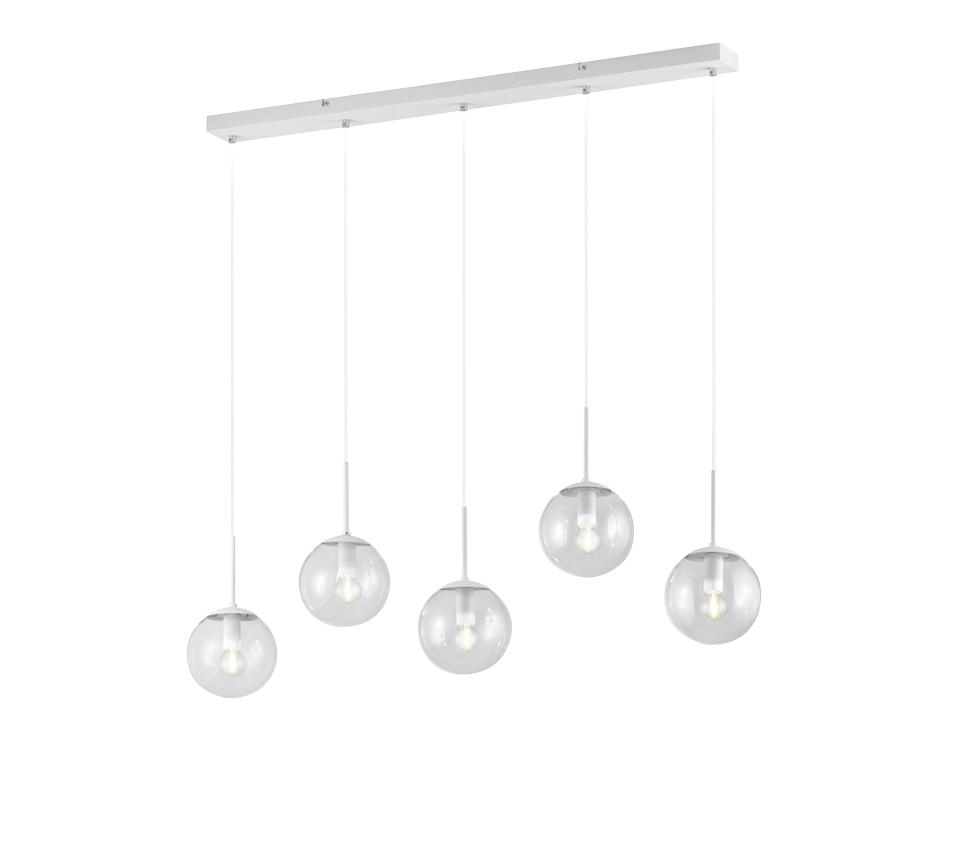 Colgante Balini Blanco 5/luces