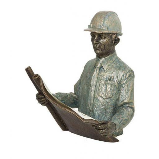 Escultura Arquitecto o Ingeniero de Anglada
