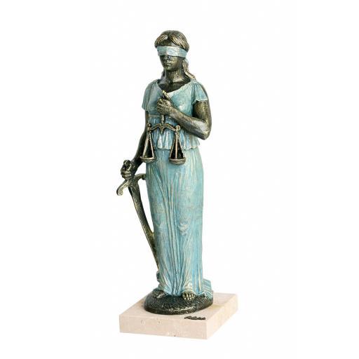 Escultura Justicia de Anglada