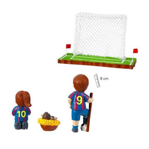 Belén Fútbol Equipación  Azul y Grana [1]