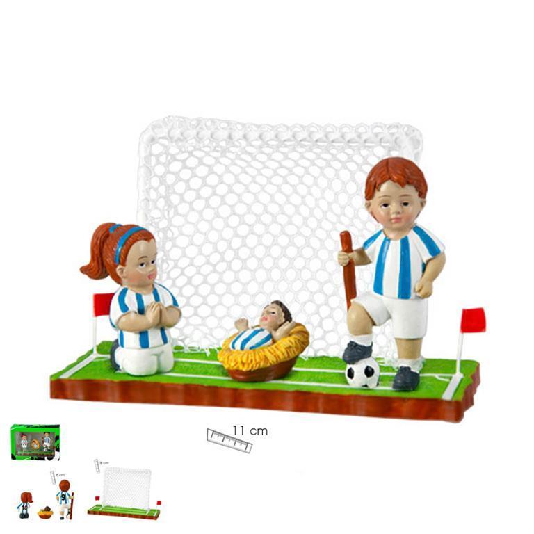 Belén Fútbol Equipación Blanca y Azul