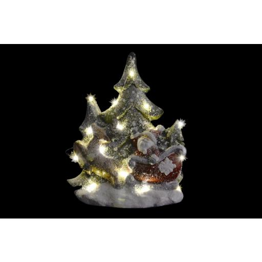Figura Papa Noel con Luz Led [1]