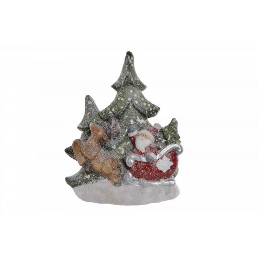 Figura Papa Noel con Luz Led