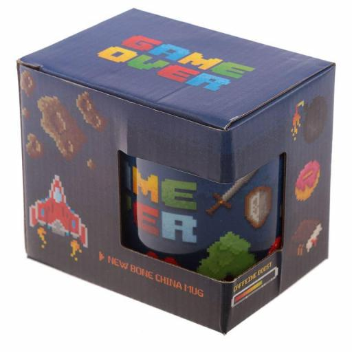 Taza Game Over con Caja decorada [1]