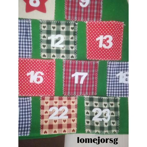 Calendario Adviento Árbol Patchwork [1]