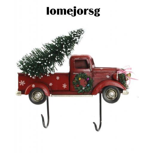 Perchero Navidad Furgoneta