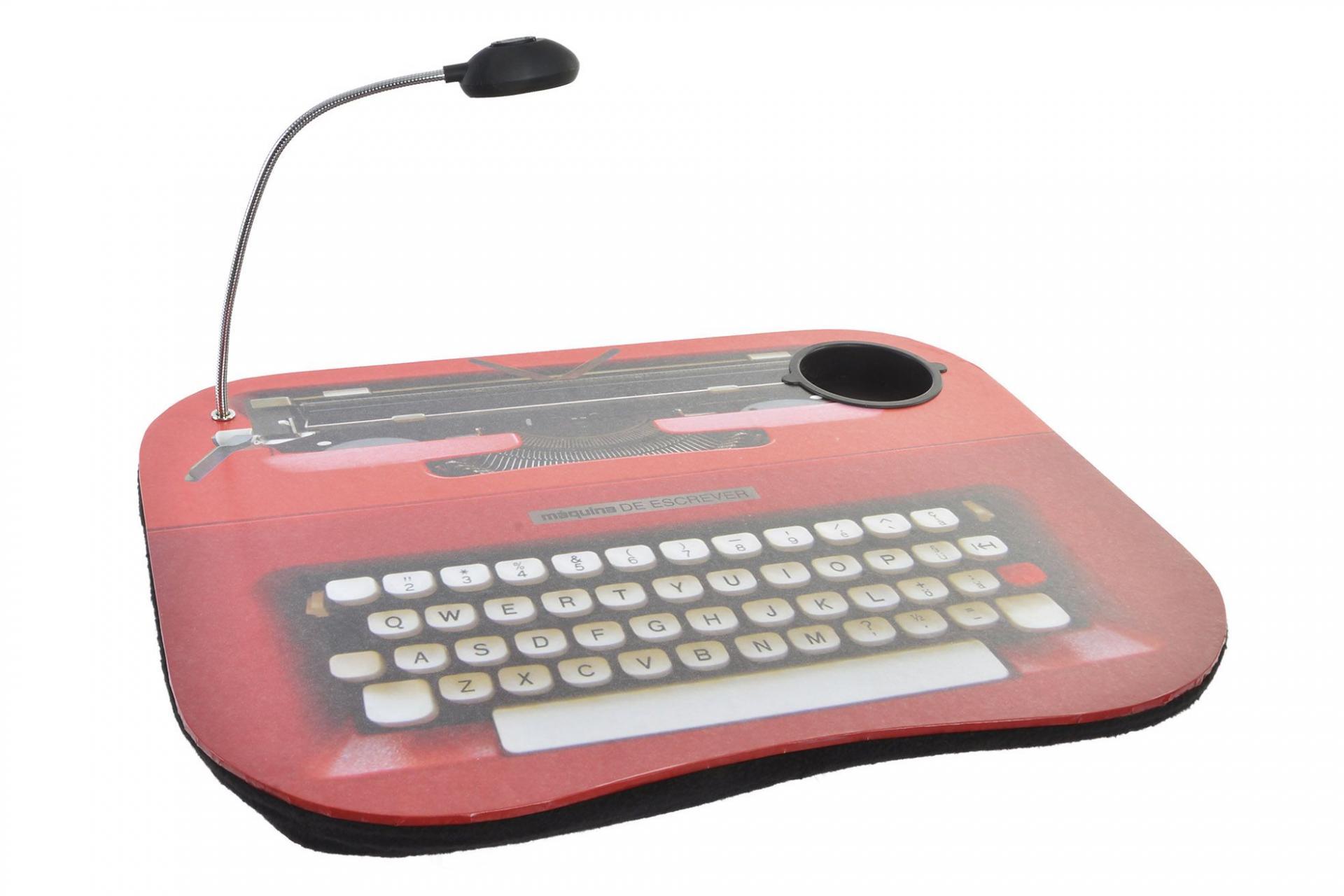Bandeja Ordenador Led Máquina de Escribir