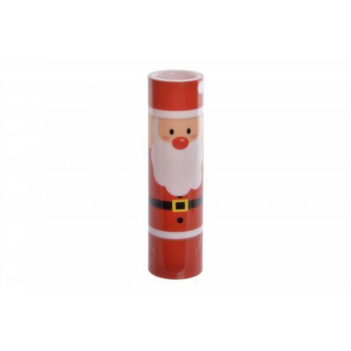 Vela Led Papa Noel