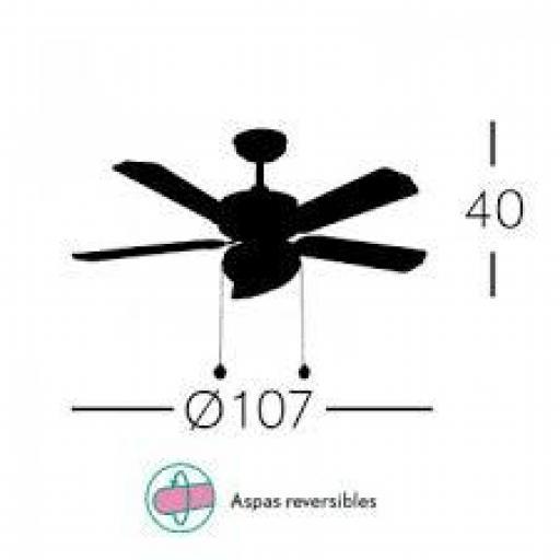 Ventilador HERACLES Cuero [2]