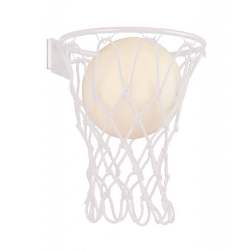 Lámpara Aplique Basketball Blanco