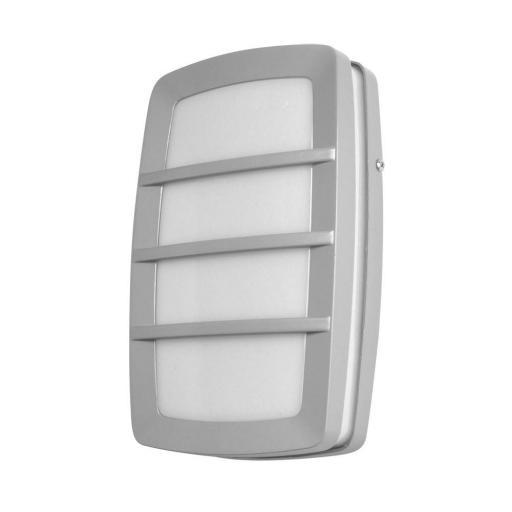 Aplique Exterior Capella en Aluminio Gris