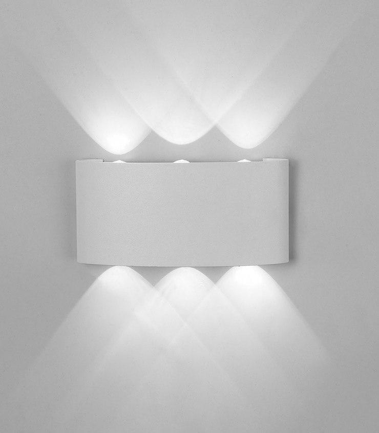 Aplique Led Exterior ARCS Blanco