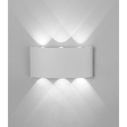 Aplique Led Exterior ARCS Blanco [0]