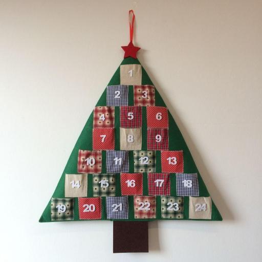 Calendario Adviento Árbol Patchwork [0]