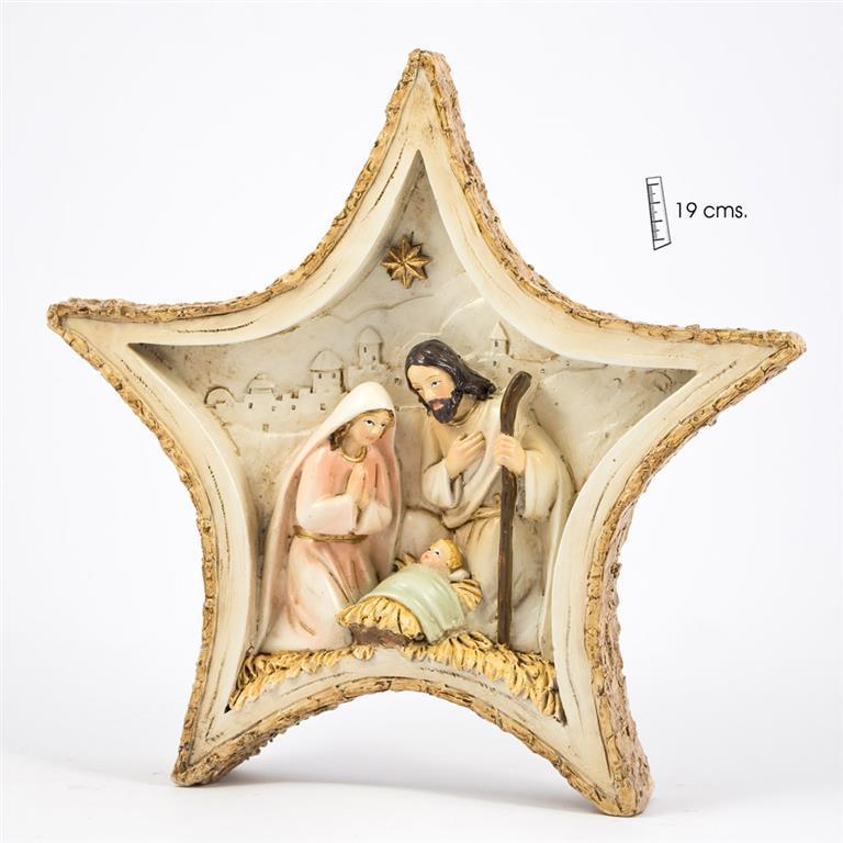 Belén 1 pieza 19 cms en Estrella