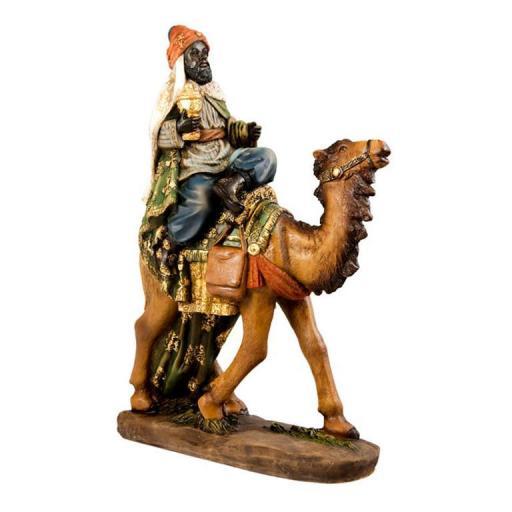 Belén Misterio 5 piezas clásico con Reyes a Camello [3]