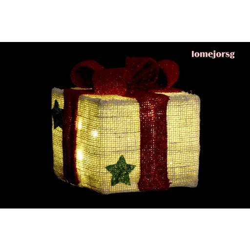 Juego 3 Cajas Regalos con Luz Led Navidad [1]