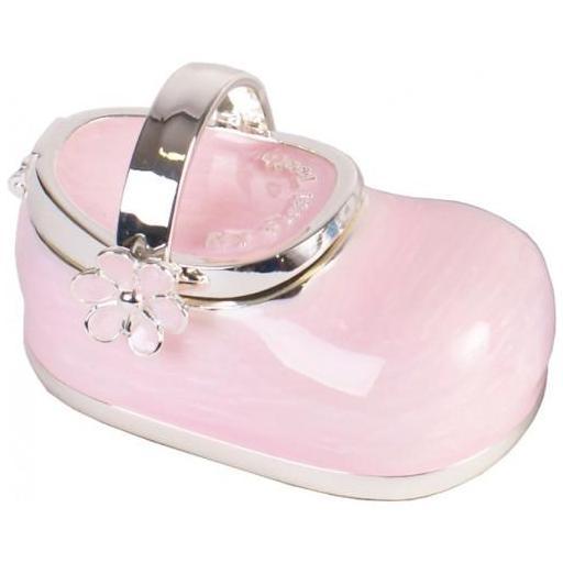 Caja Guarda Dientes Zapato Rosa