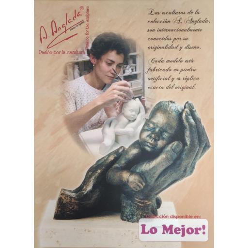 Escultura Duérmete Niño de Anglada [1]