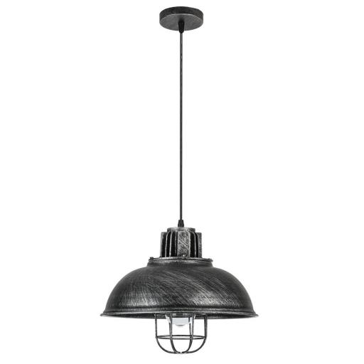 Lámpara Colgante Emu Rústico Plata [1]