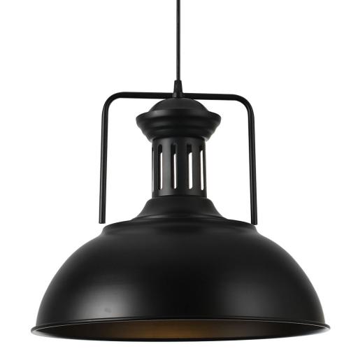 Lámpara Colgante Loro Negro