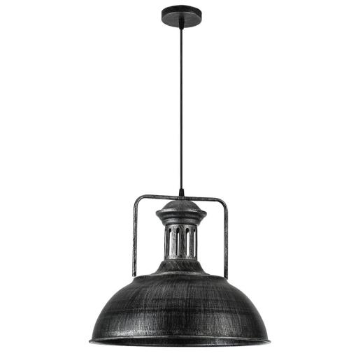 Lámpara Colgante Loro Rústico Plata [1]