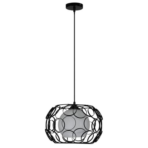 Lámpara Colgante Peregrino Negro [0]