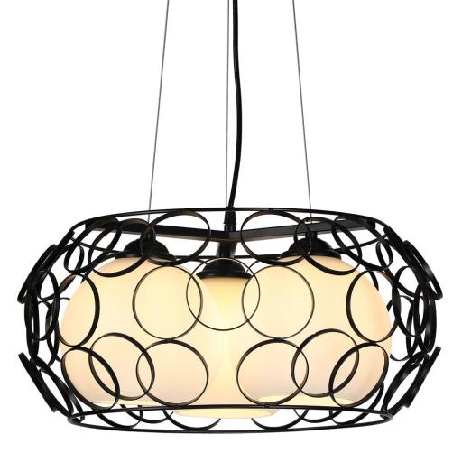 Lámpara Colgante Peregrino Negro Grande [1]
