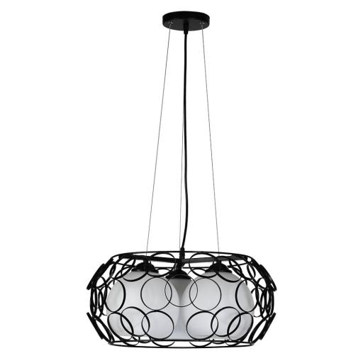 Lámpara Colgante Peregrino Negro Grande [0]