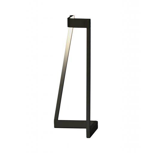 Lámpara Sobremesa Led Minimal Negro