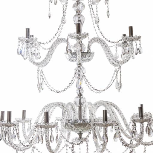 Lámpara Cristal Cracovia 21 Luces [1]