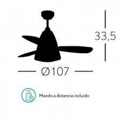 Ventilador Iseran Cromo [1]