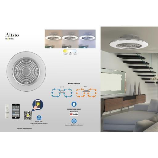 Ventilador Alisio XL Blanco [2]