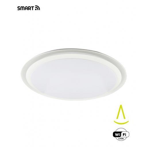 Plafón Led Inteligente Edge Smart 80w